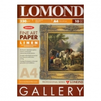 Lomond 0913232  Льняная Грубая односторонняя натурально-белая , архивная.A3 ,230g/m 20 листов