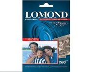 Lomond 1103303 (Semi Glossy Bright)- односторонняя Полуглянцевая ,ярко-белая A6 260g/m, 500 лист.