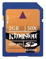 Карта памяти Kingston SD 2Gb, ElitPro