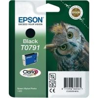 Картридж оригинальный (в технологической упаковке) черный (black) Epson T0791 / C13T07914A10, объем 11,1 мл.