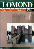 Lomond 0102001 Односторонняя матовая фотобумага для струйной печати,A4, 90 г/м2, 100 листов.