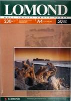 Lomond 0102016 Односторонняя Матовая фотобумага для струйной печати, A4, 230 г/м2, 50 листов