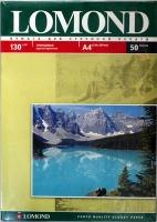 Lomond 0102017 Односторонняя глянцевая фотобумага  для струйной печати, A4, 130  г/м2, 50 листов.