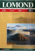 Lomond 0102022 Односторонняя глянцевая фотобумага для струйной печати, A4, 230 г/м2, 50 листов.