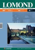 Lomond 0102031 Односторонняя Матовая фотобумага для струйной печати, A4, 160 г/м2, 25 листов