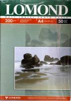 Lomond 0102033 Двусторонняя Матовая/Матовая фотобумага для струйной печати, A4, 200 г/м2, 25 листов.