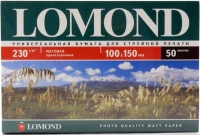 Lomond 0102084 Односторонняя Матовая фотобумага для струйной печати, A6, 230 г/м2, 500 листов.