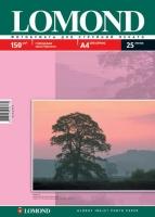 Lomond 0102043 Односторонняя Глянцевая фотобумага для струйной печати, A4, 150 г/м2, 25 листов.