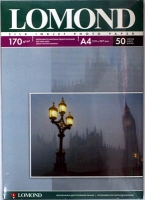Lomond 0102060 Односторонняя Шелковисто-матовая фотобумага для струйной печати, A4, 170 г/м2, 50 листов