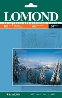 Lomond 0102068 Односторонняя Матовая фотобумага для струйной печати, A5, 180 г/м2, 50 листов