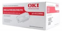Тонер-картридж оригинальный Oki 01239901, ресурс 3000 стр.