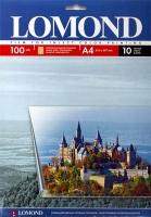Lomond 0708411 Пленка односторонняя прозрачная  для струйных принтеров.  A4, 10л. 100 мкм.