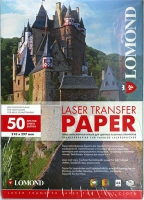 Бумага Lomond 0807420 для перевода изображений на светлую ткань, А4, 50 л.