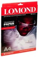 Бумага Lomond 0808415 (Ink Jet Transfer Paper for Bright Cloth) для перевода изображений на светлую ткань, A4, 50 л.