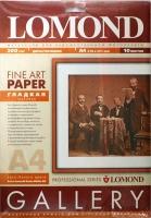 Lomond 0910141 Самая Гладкая двусторонняя Матовая/Матовая ,ярко-белая  A4, 200g/m,10 лист.