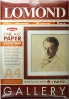 Lomond 0911341 Велюр. одностороняя матовая,бархатистая  ярко-белая,архивная, A4 ,290g/m ,10 листов