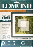 Lomond 0925041 Lizard Skin- Ящерица односторонняя ,Матовая,ярко-белая, A4 ,200g/m ,10 листов
