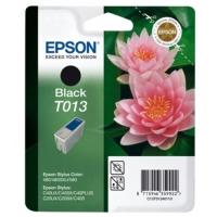 Картридж оригинальный (в технологической упаковке) черный Epson T013 blаck, ресурс 300 стр.