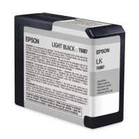 Картридж оригинальный серый (light black) Epson T5807 / C13T580700, емкость 80 мл.