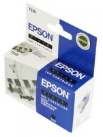 Картридж оригинальный (в технологической упаковке) черный Еpson T038 black, ресурс 220 стр.