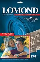 Lomond 1101305 (Semi Glossy Bright)-односторонняя Полуглянцевая ,ярко-белая A4 170g/m,  20 лист