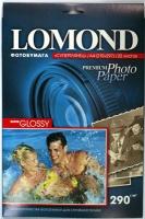 Lomond 1108100 (Super Glossy Bright)-односторонняя,Суперглянцевая ,ярко-белая A4 290g/m, 20 лист.