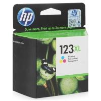Картридж оригинальный цветной HP 123XL Tri-color F6V18AE