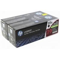 Картридж оригинальный (двойная упаковка)  HP CE285AD (№ 85А / 85А), ресурс 2 х 1600 стр.