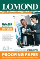 Lomond 1410120 Матовая односторонняя бумага для цветопроб, 120 г/м2, A3+, 100 листов