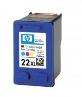 Картридж оригинальный (блистер) HP C9352CE (№22XL) Color, ресурс 415 стр.