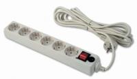 Сетевой фильтр Buro 600-6FT Wt 1.8м (6 розеток) белый¶