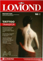 Lomond 2010440  TATTOO TRANSFER ,A4 ,10 лист