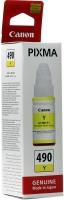 Картридж оригинальный Canon GI-490Y желтый, 70 мл.