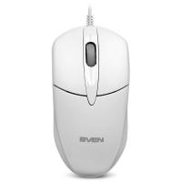 Мышь оптическая Sven RX-112 USB White