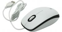 Мышь оптическая Logitech Mouse M100 White USB
