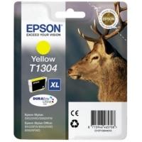 Картридж оригинальный (в технологической упаковке) желтый (yellow) Epson T1304 XL / C13T13044010, объем 10,1 мл.