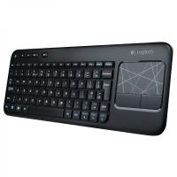 Клавиатура Logitech Wireless Touch Keyboard K400 Black USB