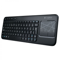 Клавиатура Logitech Wireless Touch Keyboard K400 Black USB