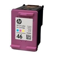 Картридж оригинальный (в технологической упаковке) HP CZ638AE (№46) Tri-Colour
