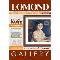 Lomond 0911132 Велюр-односторонняя матовая бархатистая  натур.-белая, A3, 265g/m, 20 листов