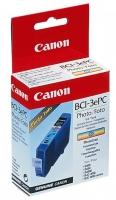 Картридж оригинальный светло-голубой (photo cian)Canon BCI-3ePC, ресурс 390 стр.