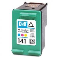 Картридж оригинальный (в технологической упаковке) HP CB337HE (№141) Color, ресурс 170 стр.