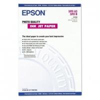Бумага Epson S041068 (Photo Quality Ink Jet Paper) матовая, А3, 102 г/м2, 100 л.