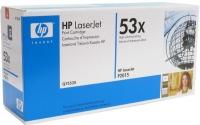 Картридж оригинальный HP Q7553X / 53X, ресурс 6000 стр.