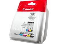 Комплект картриджей оригинальный Canon CLI-471 (BK / C / M / Y) MULTIPACK
