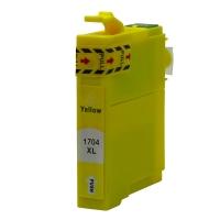 Картридж оригинальный (блистер) Epson T1704 Yellow