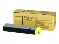 Картридж оригинальный желтый (yellow) Kyocera TK-510M, ресурс 8000 стр.