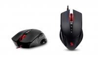 Мышь оптическая A4Tech Bloody V5 game mouse Black USB