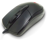 Мышь оптическая Oklick 125M Black USB1.1