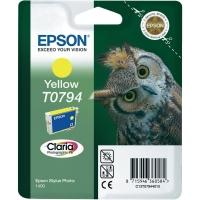 Картридж оригинальный (в технологической упаковке) желтый (yellow) Epson T0794 / C13T07944010